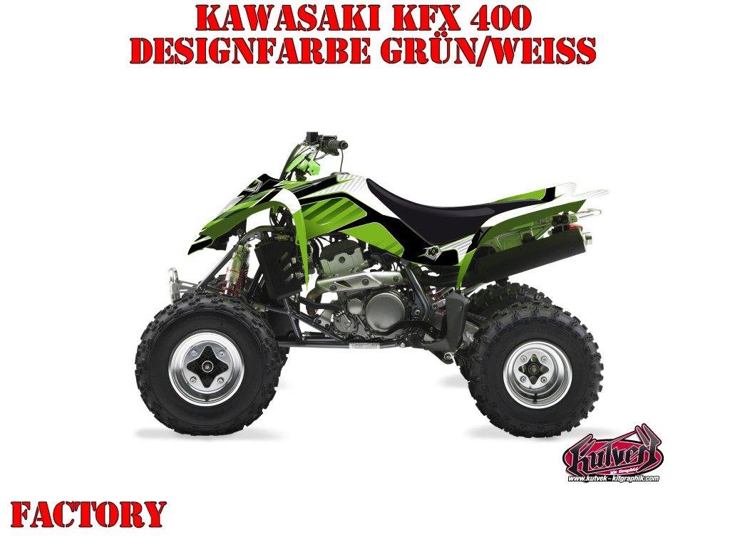 Kutvek Factory Dekor für Kawasaki Quads
