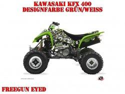 Kutvek Freegun Eyed Dekor für Kawasaki Quads