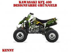 Kutvek Kenny Dekor für Kawasaki Quads