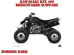 Kutvek Zombie Dark Dekor für Kawasaki Quads