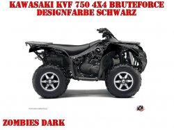 Kutvek Zombie Dark Dekor für Kawasaki ATVs