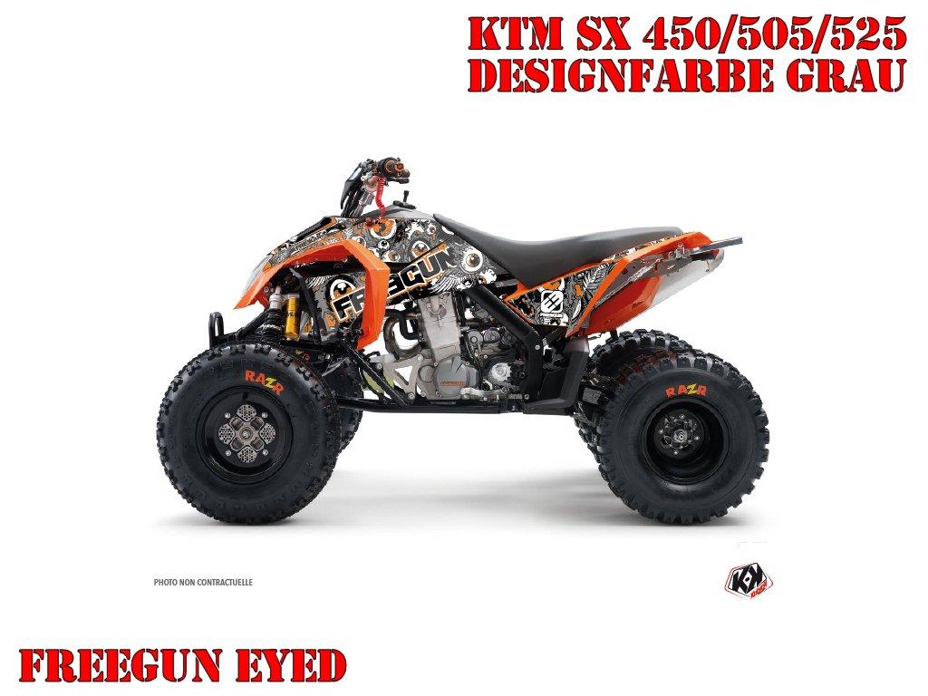 Kutvek Freegun Eyed Dekor für KTM Quads