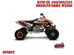 Kutvek Spirit Dekor für KTM Quads