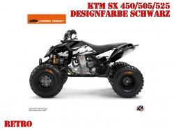 Kutvek Retro Dekor für KTM Quads