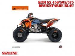 Kutvek Skyline Dekor für KTM Quads