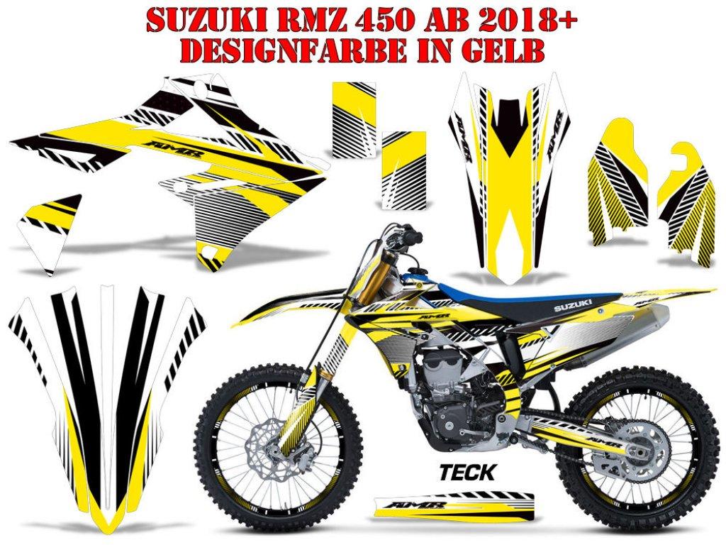 2011 2012 2013 2014 2015 2016 2017 2018 2019 SUZUKI RMX 450Z GRAPHICS RMX450Z