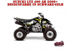 Kutvek Trash Dekor für Suzuki Quads