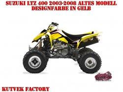 Kutvek Factory Dekor für Suzuki Quads