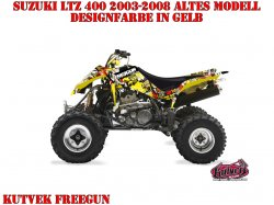 Kutvek Freegun Dekor für Suzuki Quads