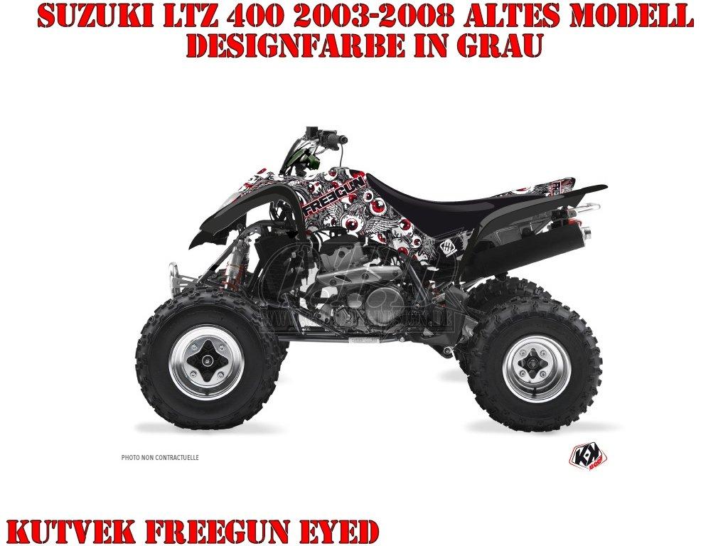 Kutvek Freegun Eyed Dekor für Suzuki Quads