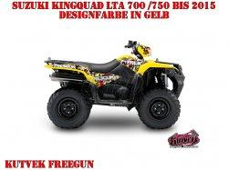 Kutvek Freegun Dekor für Suzuki ATVs