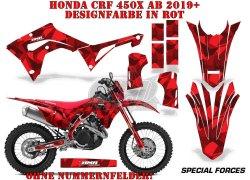 Special Forces für die Honda MX Motocross Bikes