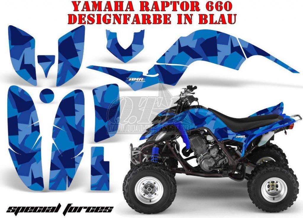 Special Forces für die Yamaha Quads