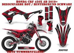 Zooted für Honda MX Motocross Bikes