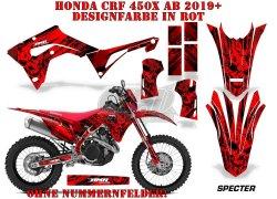 Specter für die Honda MX Motocross Bikes