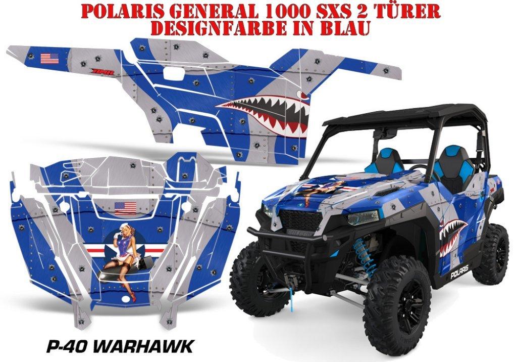 T-Bomber für die Polaris UTV RZR 900S & 1000 XP