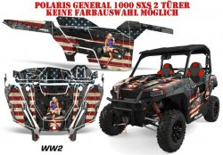 World War 2 für Polaris UTV RZR 900S & 1000 XP
