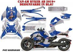 P40 Warhawk für die CAN-AM Spyder
