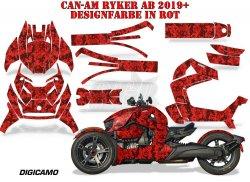 Digi Camo für die CAN-AM Spyder