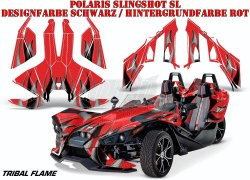Tribal Flames für Polaris Slingshot