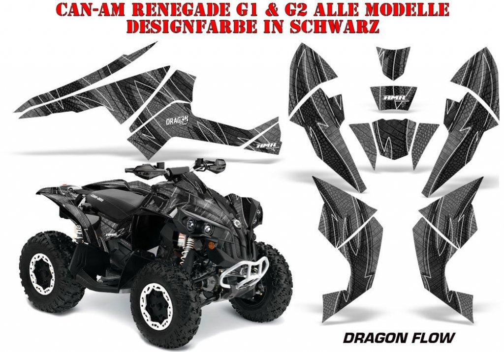 Sonderpreis: Dragon Flow für CAN-AM Renegade in Schwarz