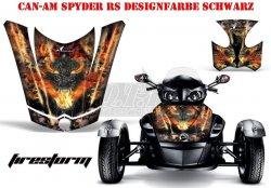 Can-Am Spyder Hood Dekore